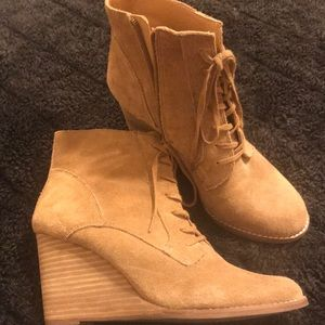 Lucky Brand booties .